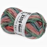Sockenwolle Super Soxx Jungle Color von LANG Yarns, Snake