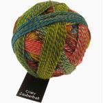 Sockenwolle Zauberball® Crazy von Schoppel Wolle, Papagei
