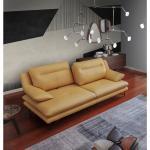Sofa Filey aus Echtleder