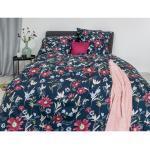 Blaue IRISETTE Luna Schlafzimmermöbel maschinenwaschbar