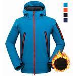 Softshelljacke für Wanderer Wanderjacke Winter Draussen UV-beständig Verschleißfestigkeit Campen und Wandern Jagd Angeln Marineblau Blau Orange Schwarz Sportkl Lightinthebox