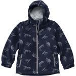 Blaue Jako-O Outdoorjacken & Funktionsjacken mit Dinosauriermotiv für Kinder für den Herbst