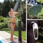 Solar-Gartendusche