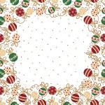 Sovie HORECA Tischdecke Belinda aus Linclass® Airlaid 80 x 80 cm, 20 Stück - Mitteldecke Weihnachten 4045825364537