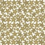 Sovie HORECA Tischdecke Gitte in Gold-Schwarz aus Linclass® Airlaid 80 x 80 cm, 20 Stück - Mitteldecke Weihnachten 4045825364612