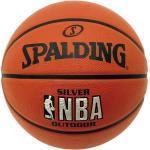 Spalding Basketball - NBA Silver Outdoor Junior, schwarz, Gr. 5