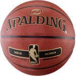 SPALDING NBA GOLD Basketball hellbraun