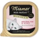 Miamor Milde Mahlzeit Katzenfutter mit Geflügel