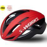 Specialized S-Works Evade Rennrad-Helm ANGi + MIPS Größe S Team Red/Schwarz