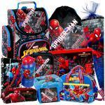 Spiderman 11 Teile Set Schulranzen RANZEN Schulrucksack FEDERMAPPE Tasche Schultüte 85 cm mit Sticker von Kids4shop