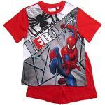 Rote Spiderman Kindermode für Jungen Größe 104 für den Sommer
