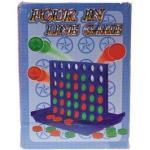 Spiel 'Vier in einer Reihe' groß - in farbiger Box ca. 26x19cm