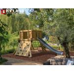 TÜV-geprüfte Spielhäuser & Kinderspielhäuser aus Massivholz mit Rutsche