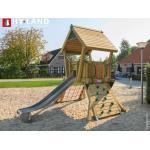 TÜV-geprüfte Spieltürme & Stelzenhäuser aus Massivholz mit Dach