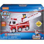 Spin Master Actionfigur » 6046151 (20106075) - Paw Patrol - Ultimate Rescue Basis Fahrzeug mit Figur - Marshall«