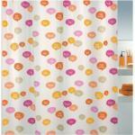 """""""Spirella Duschvorhang Schrift """"Ciao orange/pink """" - 180 x 200 cm (B x H) Ciao orange/pink"""""""