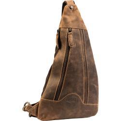 Spirit Motors Vintage Bodybag Lederumhängetasche