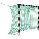 Sport-Thieme Hallenhandballtor 3x2 m, ohne Netzbügel, Rot-Silber