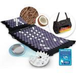 Sportstech AXM400 Akkupressurmatte ideal im Set Massage Matte + Akupressur als perfektes Geschenk für Frauen für wohltuende Entspannung bzw. Durchblutung
