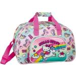 Sporttasche/Reisetasche Hello Kitty Candy Unicorns pink-kombi
