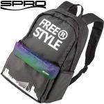 Spro Freestyle Classic Backpack Aurora 27x42x13cm - Angelrucksack für Spinnangler, Rucksack zum Street Fishing, Tackletasche