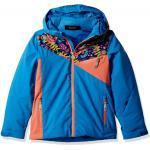 Blaues Spyder Project Wintersport-Zubehör mit Kapuze für Kinder
