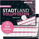 Stadt Land Vollpfosten - Girls