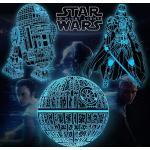 Star Wars Toys Nachtlicht für Kinder, Easter Basket Stuffers 16 farbwechselnde Star Wars-Geschenke mit Remote & Smart Touch, Weihnachts- und Geburtstagsgeschenke für Jungen Star Wars-Fans, Star Wars-Spielzeug für Kinder