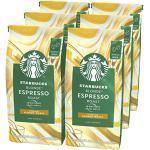 STARBUCKS Blonde Espresso Roast Ganze Kaffeebohnen, Milde Röstung (6 x 200g)