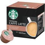 Starbucks Caffé Latte für Dolce Gusto. 12 Kapseln
