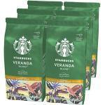 STARBUCKS Veranda Blend Filterkaffee, Röstkaffee gemahlen, Milde Röstung (6 x 200g)