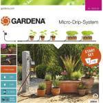 Starter Kit Micro-Drip GARDENA für Terrassen und Balkone