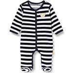 Steiff Unisex Baby Romper Kleinkind-Schlafanzüge, Blau, 50