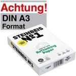 Steinbeis ClassicWhite Recycling- & Umweltpapier 80g, 500 Blatt