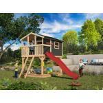 Akubi Spielplatzgeräte & Gartenspielgeräte mit Rutsche