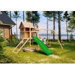 Akubi Spielplatzgeräte & Gartenspielgeräte mit Kletterwand