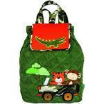 Stephen Joseph Gesteppter Kinder-Rucksack mit Applikationen, Grün