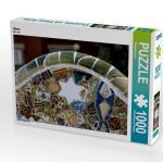 Stern 1000 Teile Puzzle quer [4056502961130] Mosaik des Künstlers Gaudi.