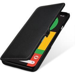 Stilgut Book-Style Ledertasche, schwarz für Google Pixel 4 XL