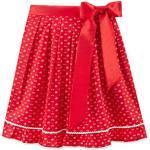 Rote Stockerpoint Stella Dirndlschürzen für Damen Größe S