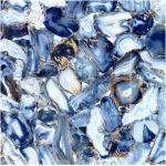 Stony Azul Blue 60 x 60 cm Feinsteinzeug Poliert