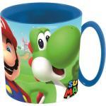 Stor Kinderbecher »Super Mario Kakaotasse Mario & Yoshi (Kunststoff)«