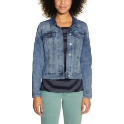 Blaue Street One Jeansjacken für Damen