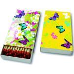 Streichhölzer, Colourful spring, 11x6,3cm, 45 Stück in einer Box
