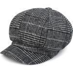 styleBREAKER Ballonmütze »Bakerboy Mütze mit Glencheck Karo Muster« Bakerboy Mütze mit Glencheck Karo Muster, schwarz, Schwarz-Weiß