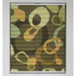 sunlines Plissee nach Maß »Young Style Retro«, verdunkelnd, verspannt, grün, gelb-khaki