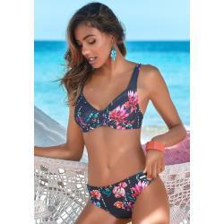Marineblaue Sunseeker Damenbikinis mit Bügel Größe L