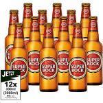 Super Bock Cerveja 5.2% Vol. 12er Pack 3960ml - Kult Bier aus Portugal, Lager, Pils