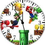 Super Mario Wanduhr 25,4cm Will Be Nice Gift und Raum Wand Decor W376