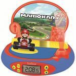 Super Mario Wecker mit Projektor und Sound mehrfarbig